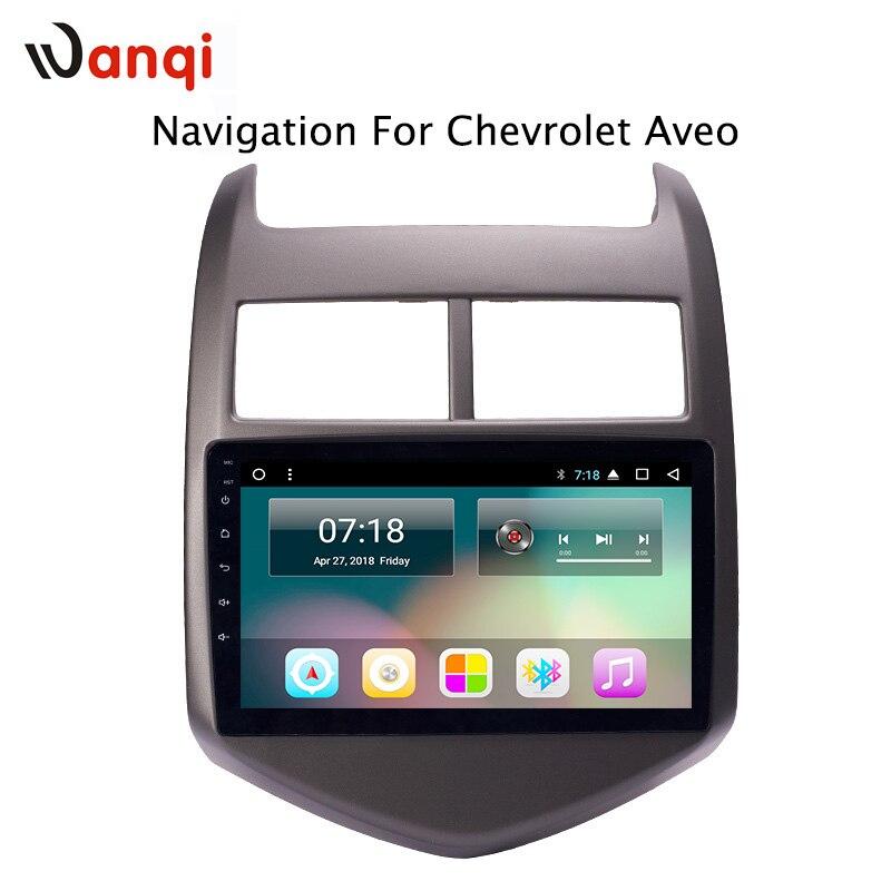 9 pollice di fabbrica android 8.1 lettore dvd dell'automobile per Chevrolet Aveo/di Sonic 2011-2013 con audio radio multimedia sistema di navigazione gps