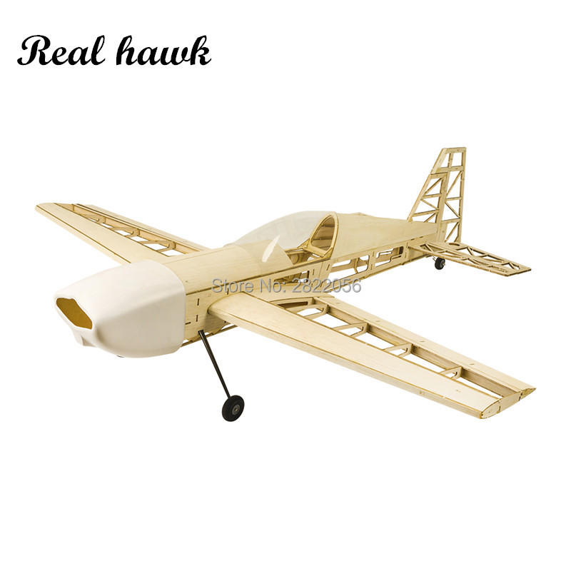 Balsawood avions modèle Laser Cut nouveau EXTRA 330 1000mm envergure à la fois gaz ou électrique Kit de construction de bois modèle avion