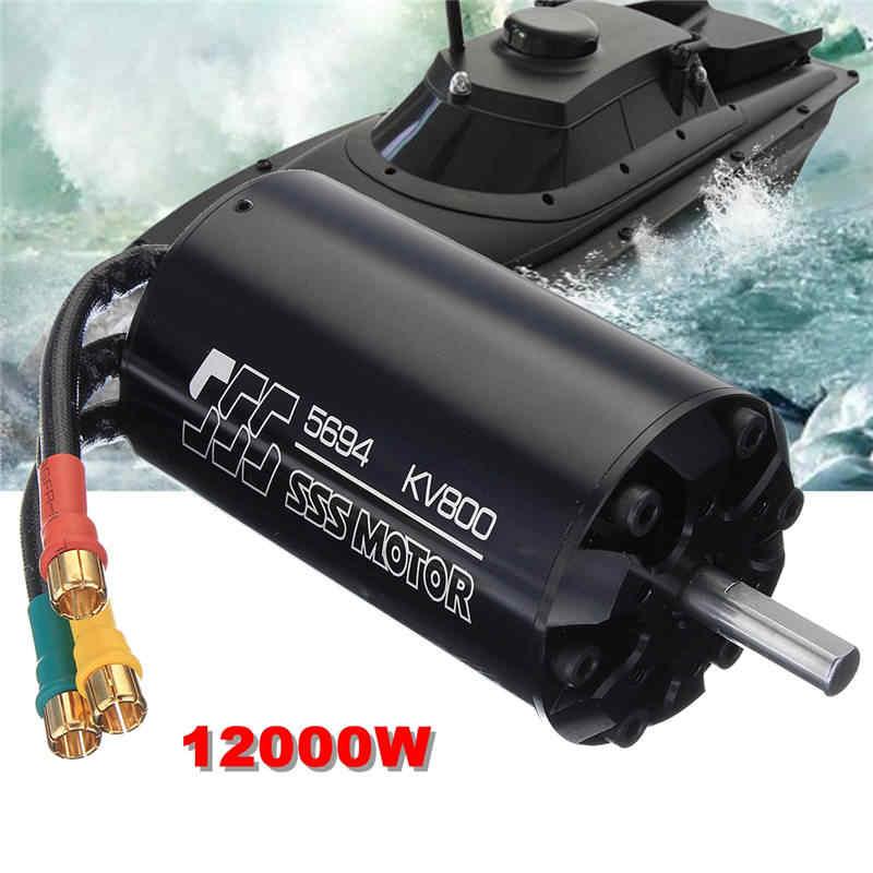 SSS 5694/800KV Motor sin escobillas 6 polos con refrigeración por agua para barcos RC