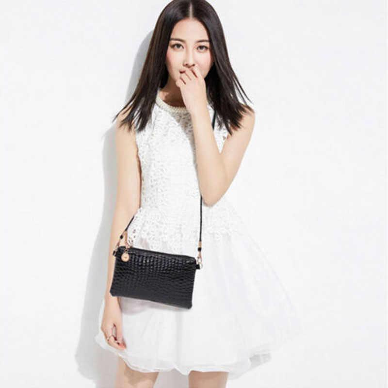 2019 nova marca de moda pequena e simples bolsa de ombro de couro feminina bolsa mensageiro crossbody