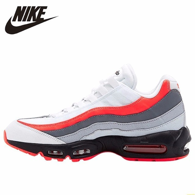 half off 722ce f05e0 Nike Air Max 95 Essential New Arrival Men Running Shoes ComfortableAir  Cushion Shoes Leisure Time Sneakers 749766-112