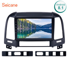 "Seicane Android 8.1 9"" 2din Car Radio Multimedia Player GPS Head Unit For HYUNDAI SANTA FE 2005 2006 2007 2008 2009 2010-2012(China)"