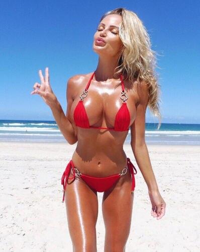 Womens Sexy Crystal Bikini Set Push-up Bra Crystal Beach Swimsuit Bathing Suit Swimwear Beachwear