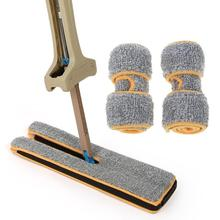 Handheld Double-sided Floor Mop Squeegee Cleaning Cloth Head Ceramic Tile Flat Kitchen Home Tools