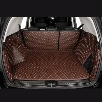 Car Trunk Mats for DODGE Journey JCUV RAM-pick-up Caravan Challenger Dart Durango Viper Coupe 3d 5d Cargo Liner