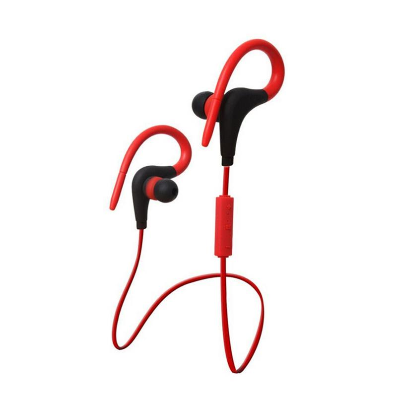 Portable Earphones Wireless Bluetooth Sports USB Charging Earbuds Stereo Hd Sounds Sweatproof Devices With Mic Hands free Calls-in Bluetooth Earphones & Headphones from Consumer Electronics
