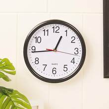 Fashion Mute Round Shape Wall Clock Living Room, Bedroom, Hotel, etc Home Decorative Glass Clock Quartz(China)