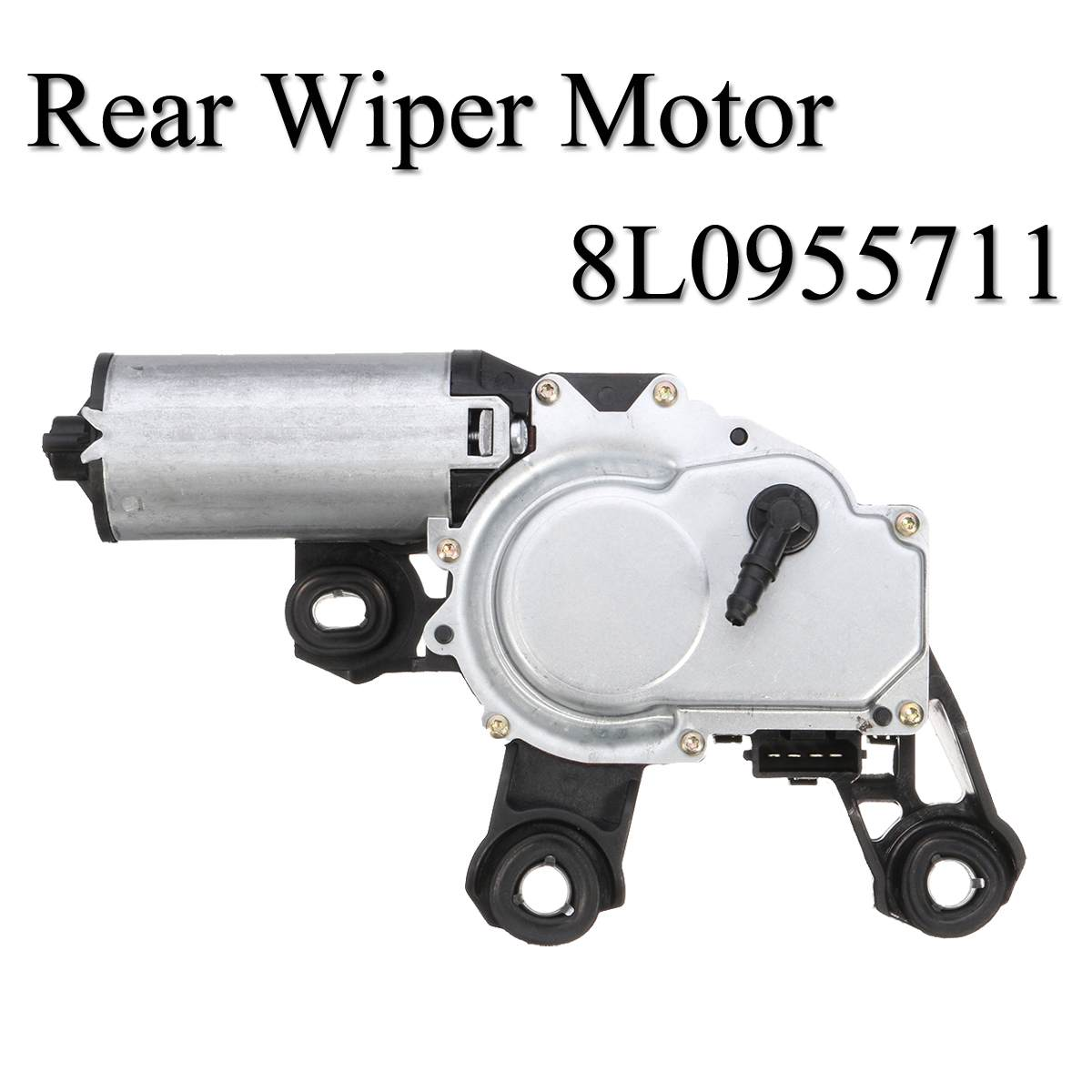 New Black Rear Windshield Wiper Motor for Audi A3 8L1 A4 A6 B5 for VW Passat