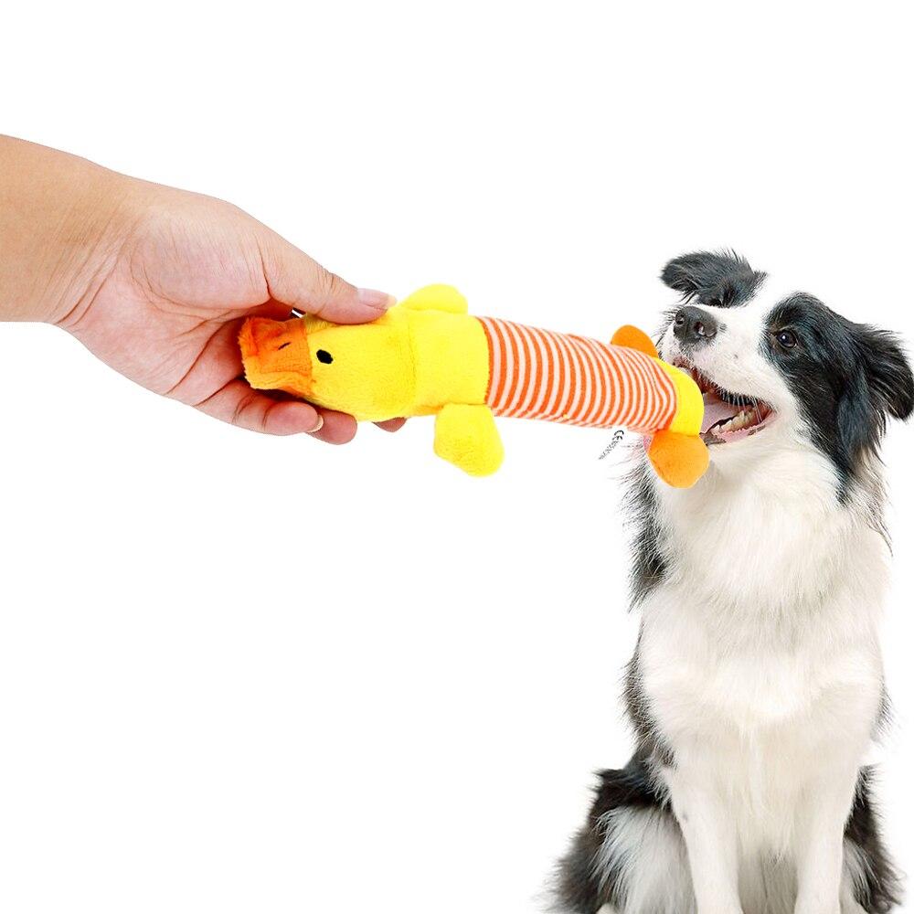 Пищащая Жевательная деталь, куклы, собака, кошка, флисовый питомец, слон, утка, свинья, подходит для всех домашних животных, долговечность-3