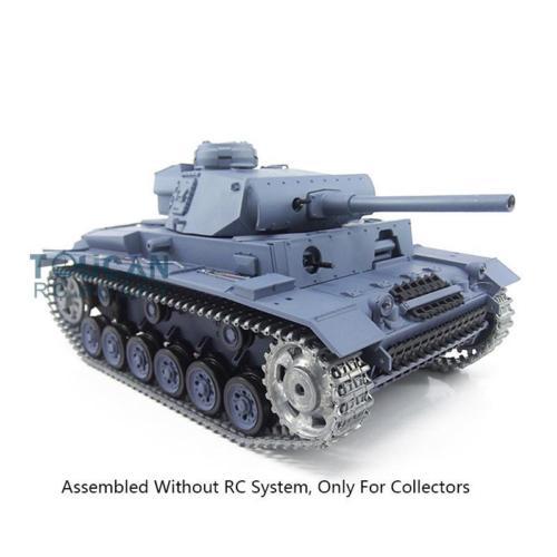 Henglong 1 16 3848 German Panther III L Static Metal Tank Model W O Electric