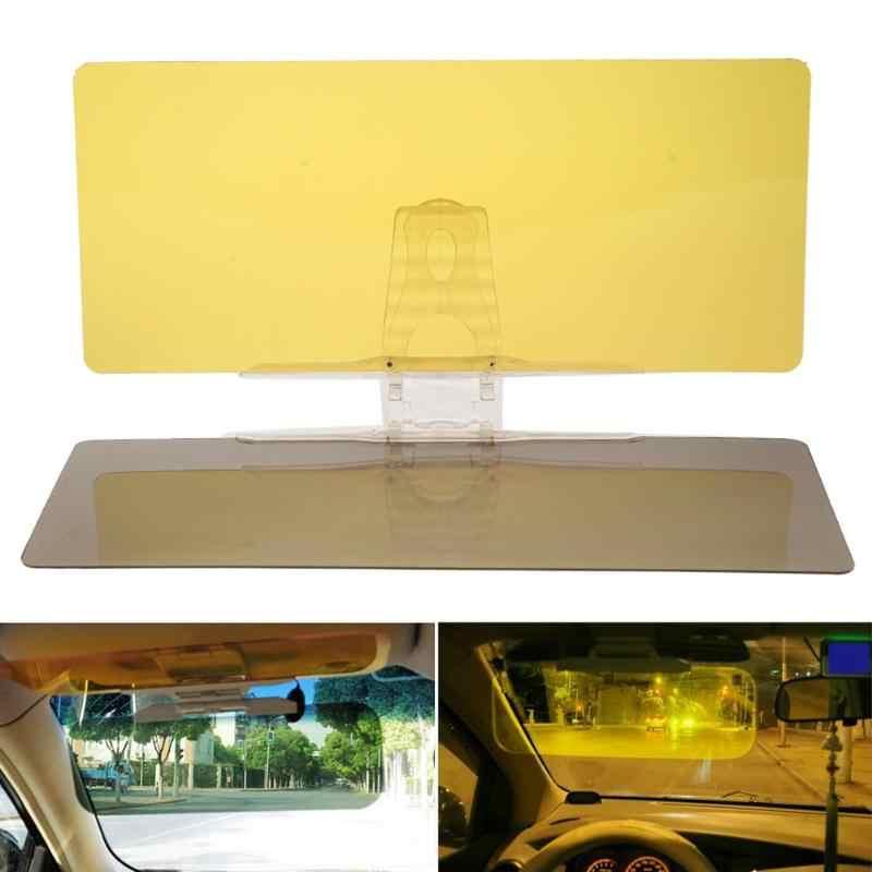 2 в 1 HD Автомобильный солнцезащитный козырек для водителей день и ночь автомобиль анти-ослепляющие очки Защита для глаз солнцезащитный козырек авто аксессуары для интерьера Новинка