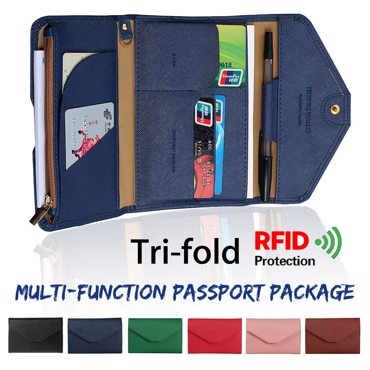 Teen Wolf Jersey Multi-purpose Travel Passport Set With Storage Bag Leather Passport Holder Passport Holder With Passport Holder Travel Wallet