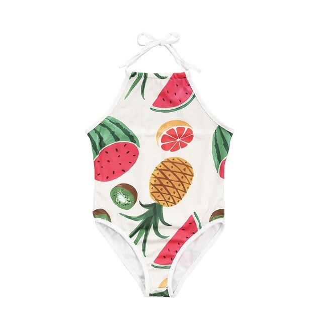 472f1b40e5 Emmababy Family Matching Swimwear Men Women Kids Boy Girl Fruit Bikini  Pants Beachwear Swimsuit