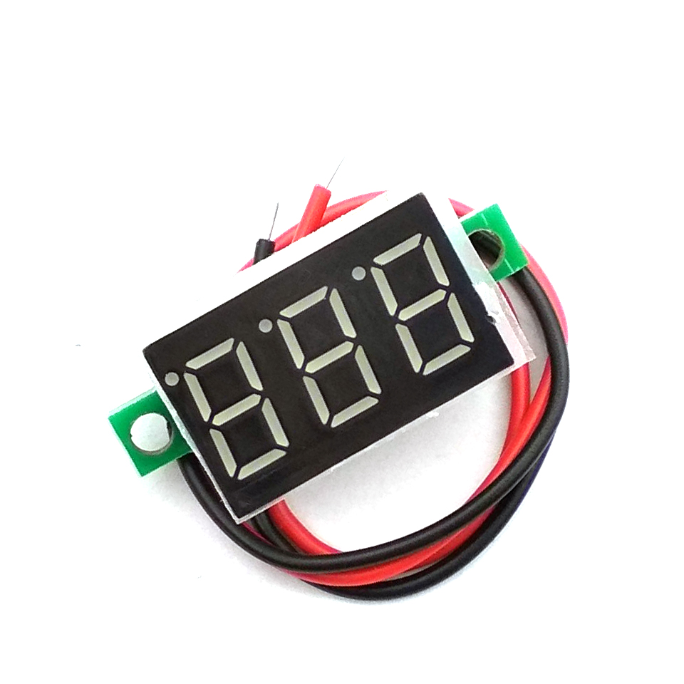 0.36 Inch Mini LCD Display Voltmeter Ammeter Voltimetro Amperimet Digital DC 4.7-30V LED Mini Digital Voltmeter Ammeter