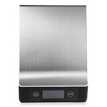 Нержавеющая сталь 15 кг/1 г Портативный Баланс цифровые кухонные весы с ЖК-дисплеем для выпечки диета еда вес