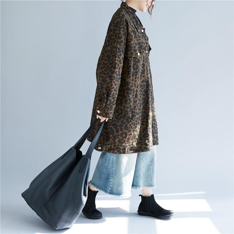 Imprimé Vêtements Leopard Sleevess Et down Femmes Automne Mode D'hiver Chauve 2018 Nouvelles souris Col Wb99301 Color De Veste Turn Lâche Léopard 04H6qxS