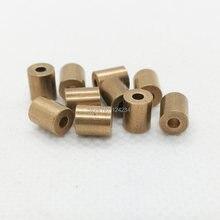 Мини SAE841 медный оловянный латунный подшипник, 10 шт., 2х5х6 мм, самосмазывающаяся втулка 2 мм, миниатюрный маленький SINT C50 gtx, бронзовый втулка ве...