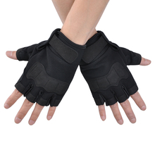 Tactical Gloves Fingerless Military Army Paintball Airsoft Shooting Outdoor Knuckle Half Finger Motorcycle Cycling P30