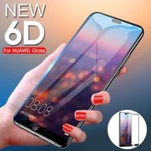 GVU 6D полное покрытие из закаленного стекла для huawei P20 Lite P20 Pro Защита экрана для huawei P10 P9 Lite Plus стеклянная пленка