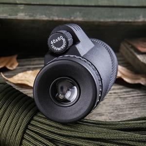 Image 3 - Potente telescopio da campeggio monoculare per Smartphone 40X60 cannocchiale militare Zoom HD caccia ottica portata binocolo visione notturna