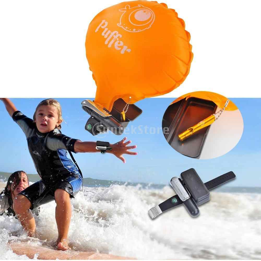 TPU Material Anti Drowning Bracelet Swimmers Wrist Flotation Device  Swimming Aid Device Lightweight Water Buoyancy for Adult Kid