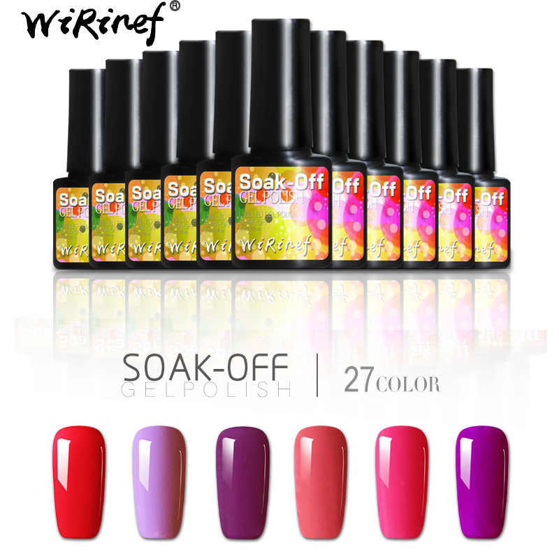 Detail Feedback Questions about WiRinef 8ml Nude Pure Colors Gel ...