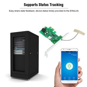 Image 5 - eWeLink Mini PCI e Desktop PC Remote Control Switch Card WiFi Wireless Smart Switch Relay Module Wireless for Smart Home