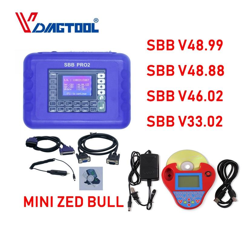 Auto Key Maker MINI Zed Bull Zed Bull Smart Silca SBB PRO2 V48 88 V46 02