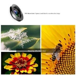 Image 5 - โทรศัพท์กล้องเลนส์,6 ใน 1 ชุดเลนส์สำหรับ Iphone และ Android, kaleidoscope มุมกว้าง + มาโคร + Cpl Fisheye Telephoto Zoom