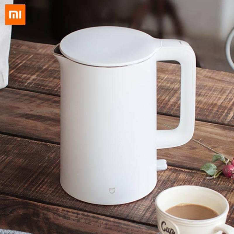 Original Xiaomi Mijia Elektrische Wasserkocher 1.5L Auto Power-off Schutz Smart Wasser Kessel Instant Heizung Edelstahl Teekanne