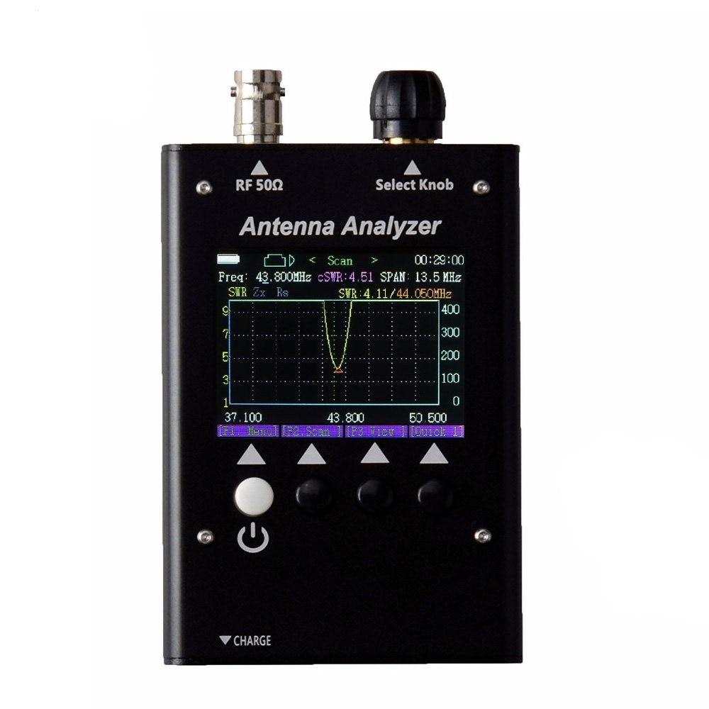 Nanovna 2 8 Inch Press Lcd Hf Vhf Uhf Uv Vector Network Analyzer 50Khz -  300Mhz Antenna Analyzer