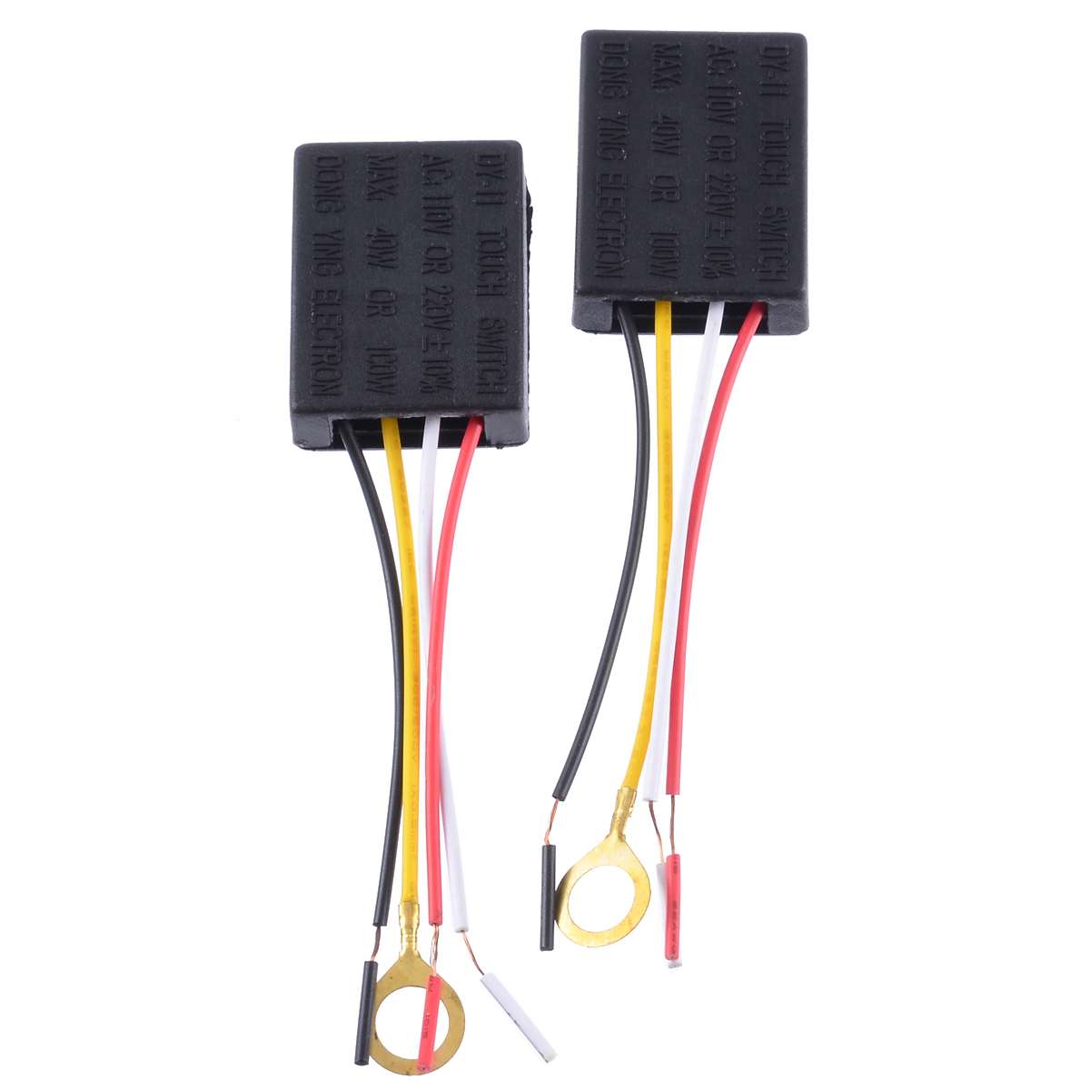 2pcs 3 way touch sensor switch control bulb control dimmer switch part for desk lamp ac 100 240v [ 1200 x 1200 Pixel ]