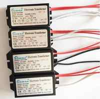 3 lata gwarancji transformator elektroniczny AC 220V AC12V do lampy halogenowej Crystal G4 żarówka 20W 40W 50W 60W 80W 105W 120W 160W