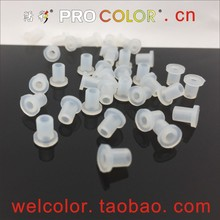 Wholesale hollow Raised Silicone rubber Sleeve Grommets Pipe Grommet Push In Grommets OD 4.0mm 5/32