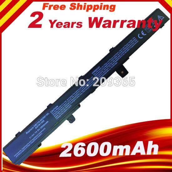 Új akkumulátor ASUS X451 X551 X451C X451M X551C X551M A31N1319-hez A41N1308 A31LJ91
