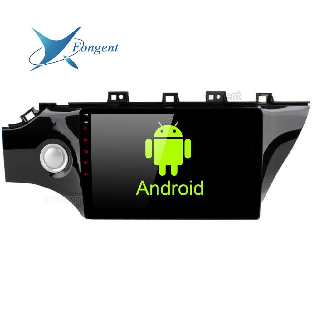 Octa Core Android 8.0 autoradio Intelligent multimédia pour Kia K2 Rio 2017 2018 IPS 10.2