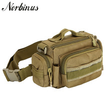 Norbinus 1000D нейлоновая Водонепроницаемая Мужская поясная сумка, поясная сумка, слинг, нагрудная сумка, рюкзак, военная сумка для путешествий, штурмовая сумка