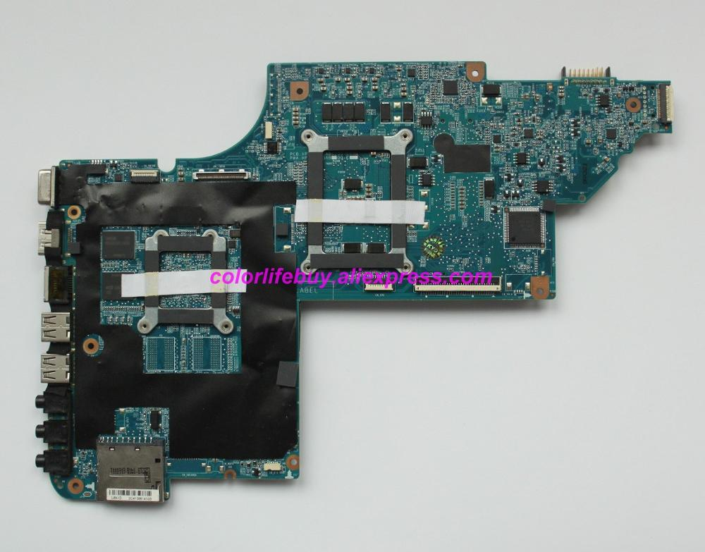 Image 2 - Genuine 665346 001 HM65 w HD6490/1G Graphics Laptop Motherboard Mainboard for HP Pavilion DV6 DV6 6000 Series NoteBook PC-in Laptop Motherboard from Computer & Office