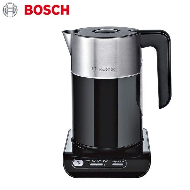 Беспроводной электрический чайник Bosch Styline TWK8613P