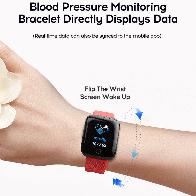 Image 3 - Smart Watch Men Blood Pressure Waterproof Smartwatch Women Heart Rate Monitor Fitness Tracker Watch Sport For Android IOS-in Smart Watches from Consumer Electronics