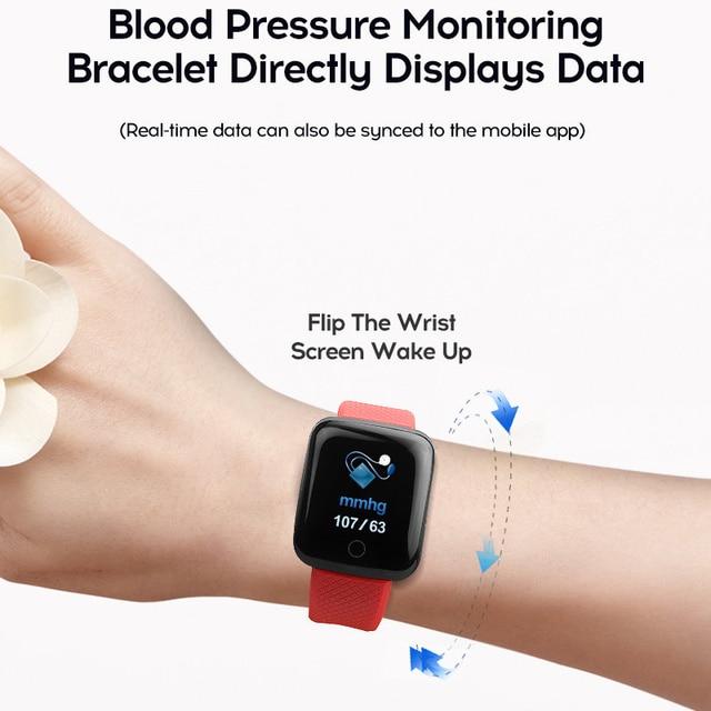 Smart Watch Men Blood Pressure Waterproof Smartwatch Women Heart Rate Monitor Fitness Tracker Watch Sport For Android IOS 2