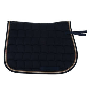 Equestrian-Saddle-Pads Horse-Equipment Horse-Saddle-Cloth Cotton with Piped-Edge 69x50cm
