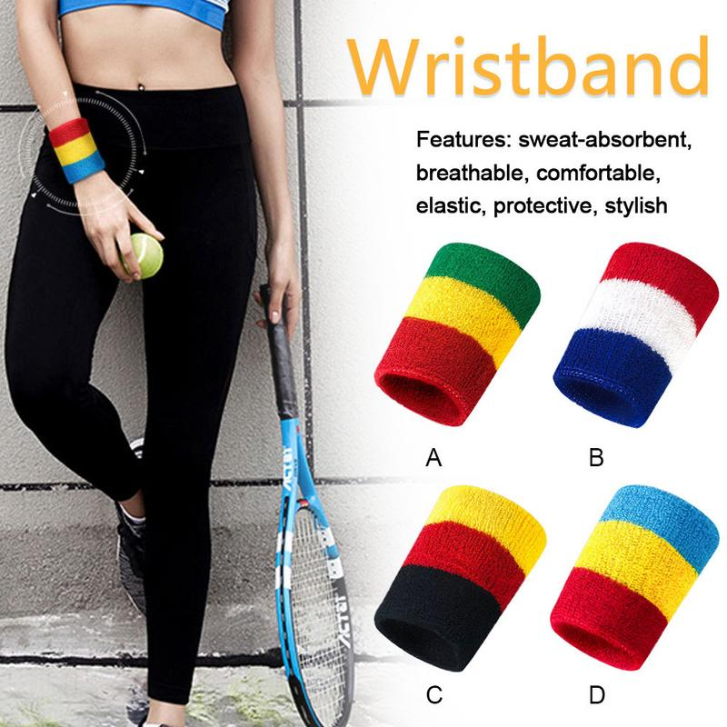 Basketball Sweat Towels: Sports Wristband Basketball Badminton Sweat Wicking Towel