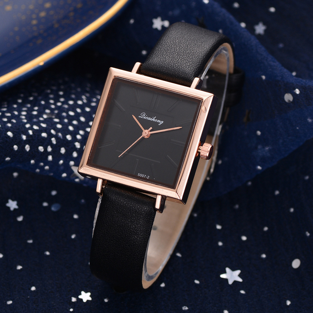 Reloj Mujer 2019 Luxury Rose Gold Elegant Women's Watch Fashion Casual Leather Quartz Wrist Watches Ladies Watches For Women