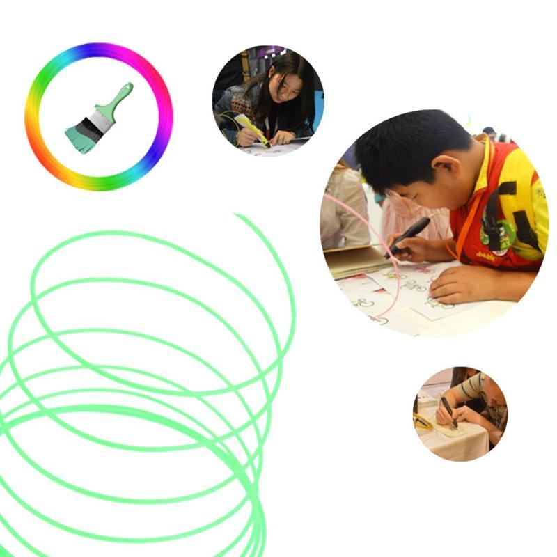 KüHn 3d Stift Spezielle Pla Filament 1,75mm 3d Druck Material 3d Drucker 10 Farben Filament Modellierung Stereoskopischen Keine Verschmutzung Erfrischend Und Wohltuend FüR Die Augen