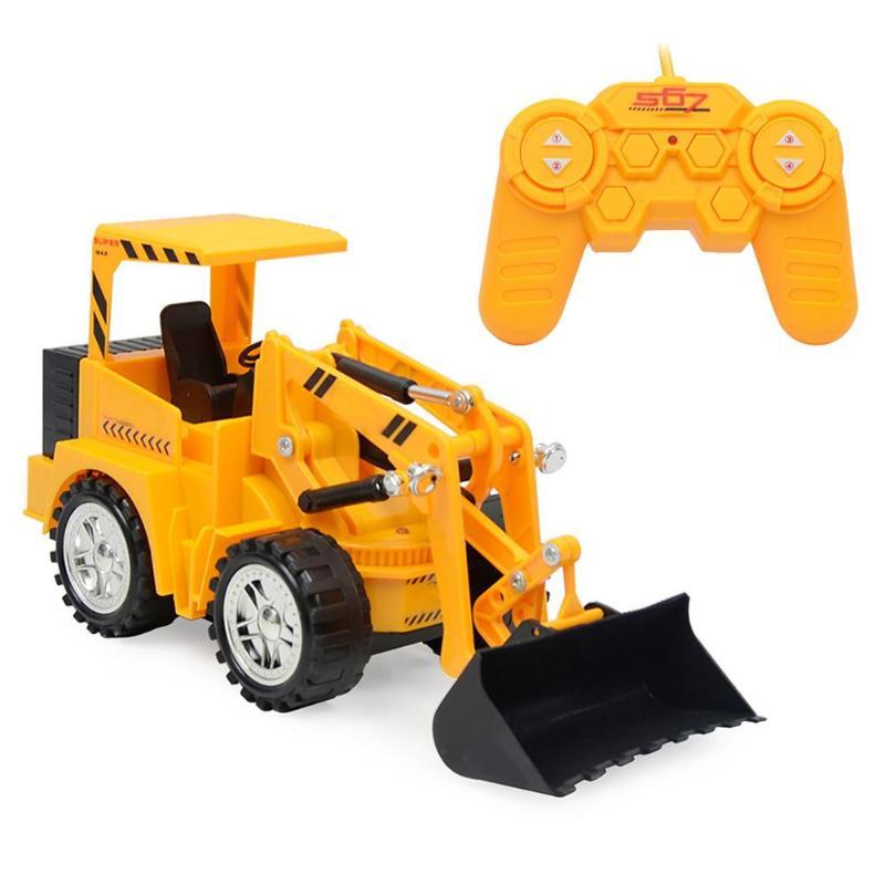 5 Kanalen Simulatie Afstandsbediening Graafmachine Speelgoed Oplaadbare Kleurrijke Verlichting Techniek Auto Model Kinderen Educatief Speelgoed Matige Prijs