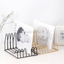 Креативная Европейская железная художественная cd коробка, полка для записи, CD Дисковая полка, специальная черная резиновая полка для графического фона