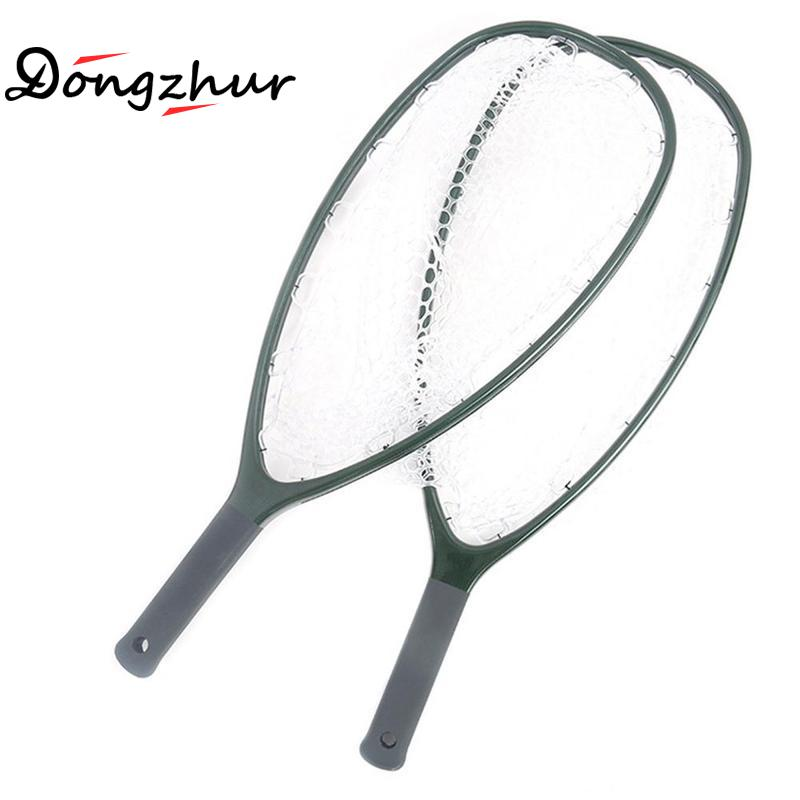 High Quality Fly Fishing Landing Net Solid Carbon Fiber Frame Nomad Hand Strong & Light Clear Rubber Net Carbon Fiber SCZ7697High Quality Fly Fishing Landing Net Solid Carbon Fiber Frame Nomad Hand Strong & Light Clear Rubber Net Carbon Fiber SCZ7697