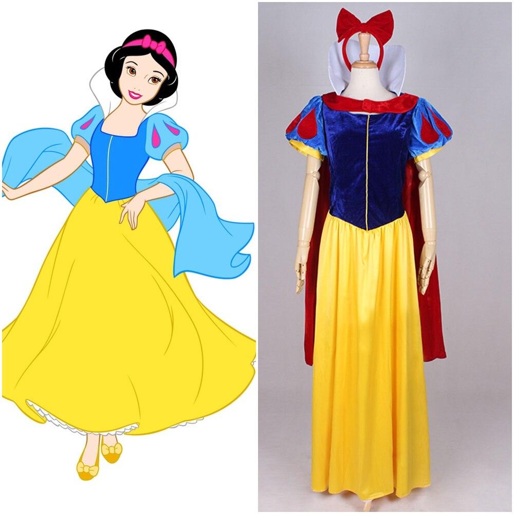 プリンセスドレス白雪姫ステージショードレスコスプレ衣装メイド