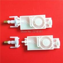 50 adet/grup Epson DX5 mürekkep damperi eko solvent yazıcı Mimaki JV33 JV5 Galaxy DX5 damperli TX800 XP600 mürekkep damperi filtre konektörü